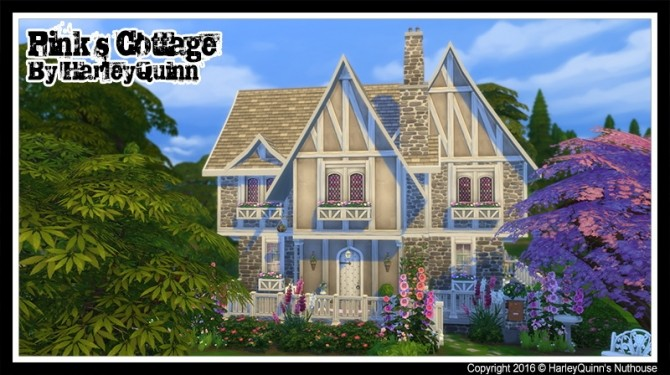 Pinks Cottage at Harley Quinn's Nuthouse image 1802 670x375 Sims 4 Updates