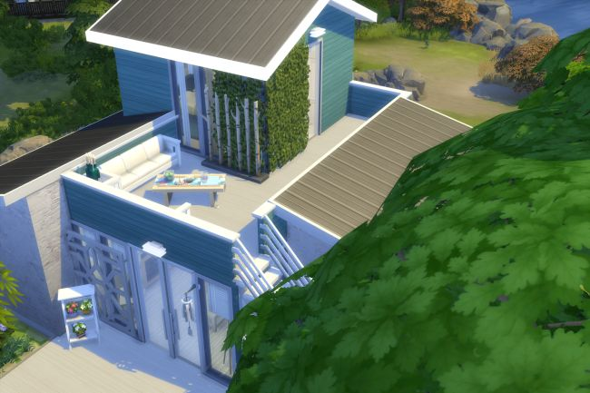 Cozy Beach house by ChiLLi at Blacky's Sims Zoo image 1804 Sims 4 Updates