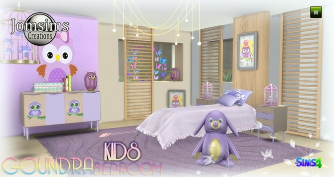 Goundra Kids bedroom at Jomsims Creations image 1873 670x355 Sims 4 Updates