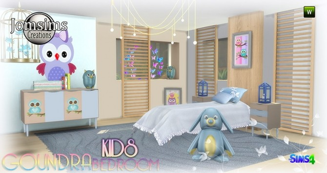 Goundra Kids bedroom at Jomsims Creations image 1883 670x355 Sims 4 Updates