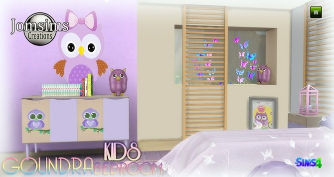 Goundra Kids bedroom at Jomsims Creations image 1916 670x355 Sims 4 Updates