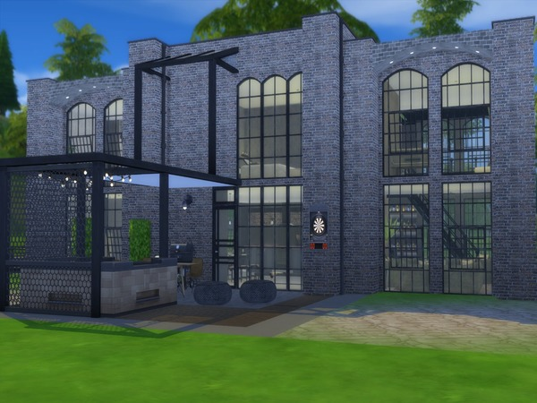 Sims 4 Ianium house by Suzz86 at TSR