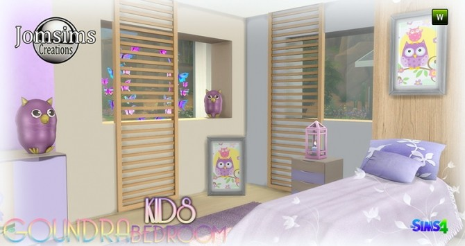 Goundra Kids bedroom at Jomsims Creations image 1923 670x355 Sims 4 Updates