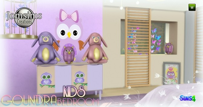 Goundra Kids bedroom at Jomsims Creations image 1943 670x355 Sims 4 Updates