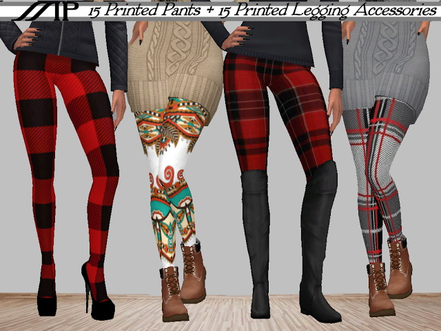 MP Autumn Leggings at BTB Sims – MartyP image 1967 Sims 4 Updates