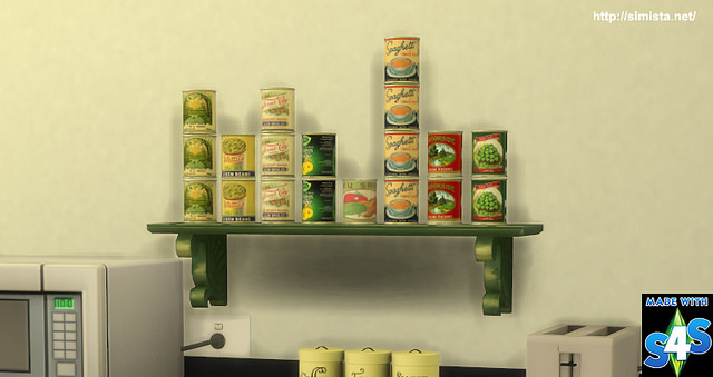Canned Food deco and slot override at Simista image 1982 Sims 4 Updates