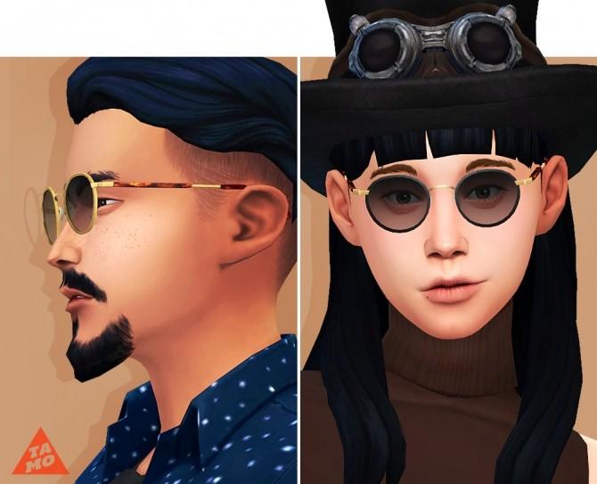 Sims 4 Simson Glasses at Tamo