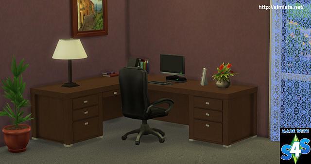 Corner Desk At Simista 187 Sims 4 Updates