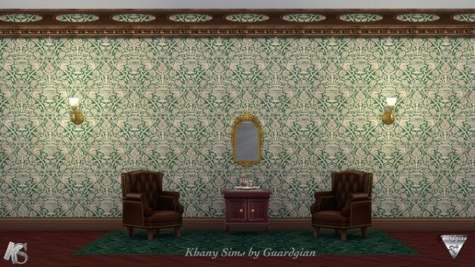 Victorian walls by Guardgian at Khany Sims & Victorian walls by Guardgian at Khany Sims » Sims 4 Updates