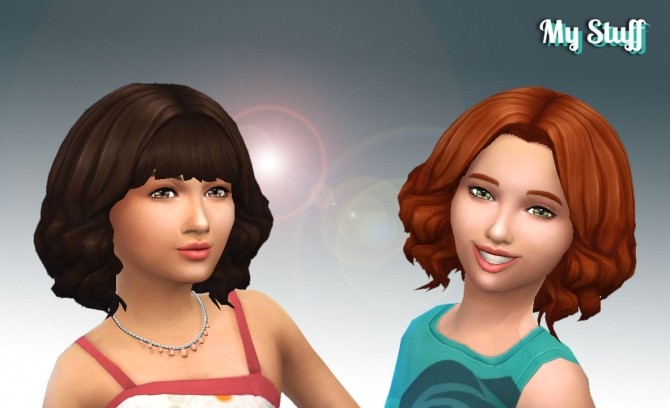 Aurora Hair for Girls at My Stuff image 2073 670x408 Sims 4 Updates