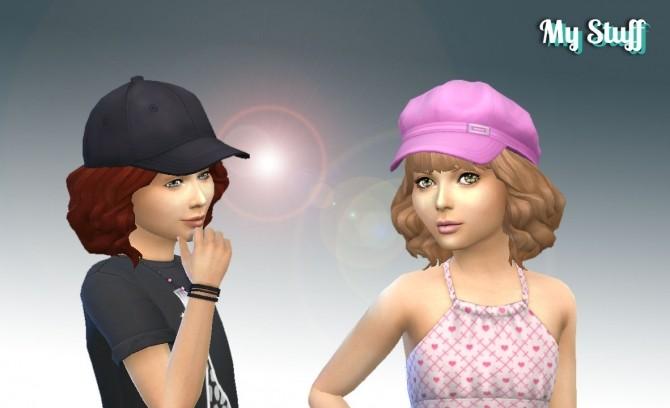 Aurora Hair for Girls at My Stuff image 2082 670x408 Sims 4 Updates