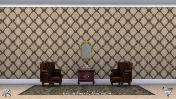 Victorian walls by Guardgian at Khany Sims image 2091 670x377 Sims 4 Updates