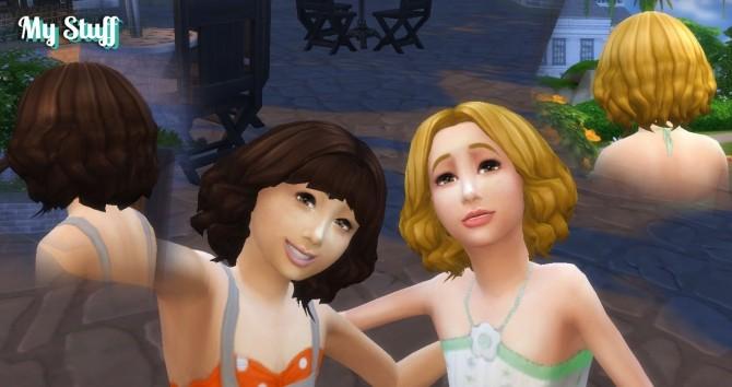 Aurora Hair for Girls at My Stuff image 2093 670x354 Sims 4 Updates
