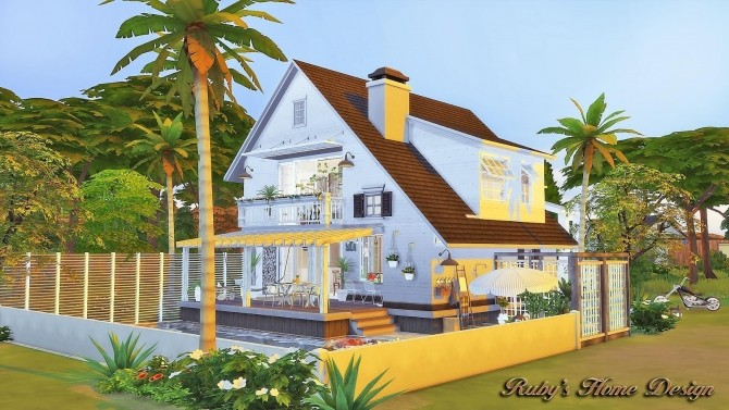 Scandinavian Retreat by Ruby Red at Ruby's Home Design image 2100 670x377 Sims 4 Updates