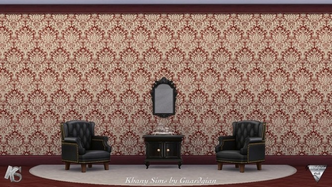 Victorian walls by Guardgian at Khany Sims image 2101 670x377 Sims 4 Updates