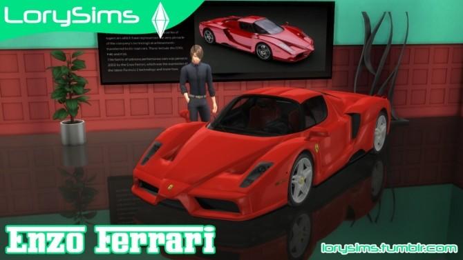 Enzo Ferrari at LorySims image 2102 670x377 Sims 4 Updates