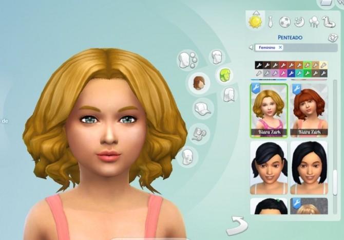 Aurora Hair for Girls at My Stuff image 2104 670x467 Sims 4 Updates