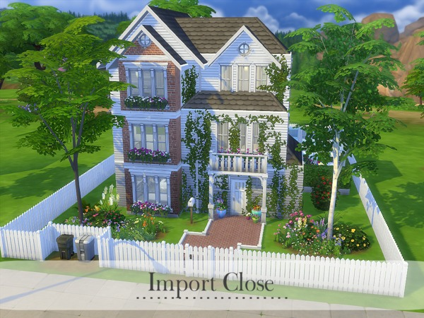 Import Close house by MadabbSim at TSR image 2105 Sims 4 Updates