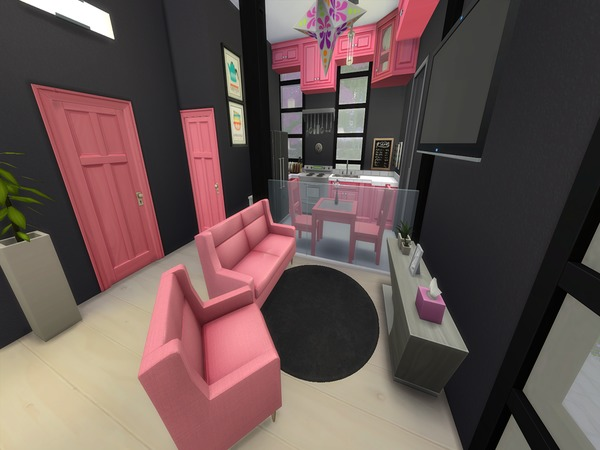 Perfect Cubic House by PxiPlays at TSR image 2107 Sims 4 Updates