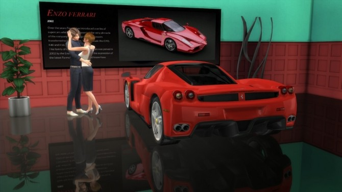 Enzo Ferrari at LorySims image 2112 670x377 Sims 4 Updates