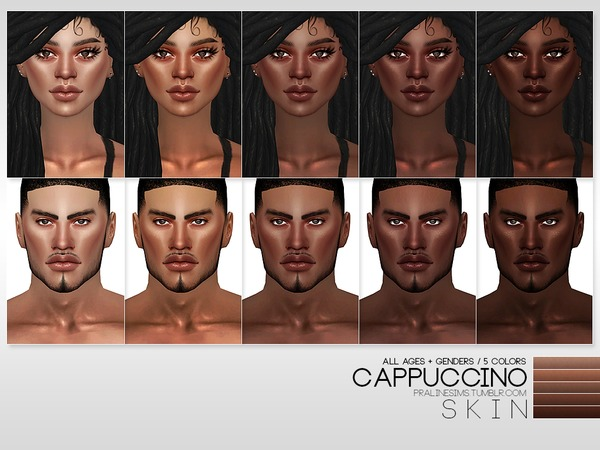 PS Cappuccino Skin by Pralinesims at TSR image 2137 Sims 4 Updates