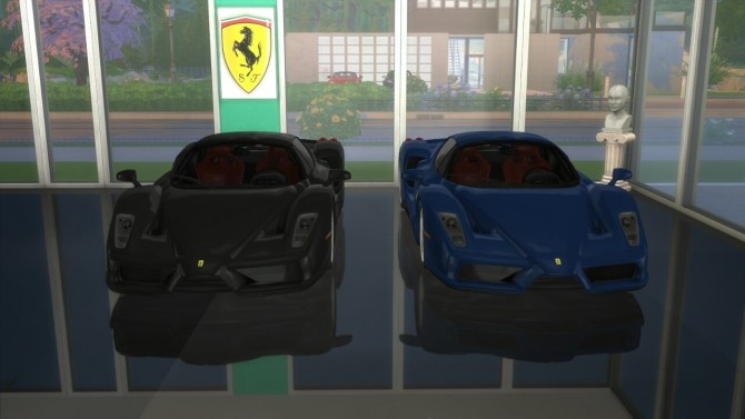 Enzo Ferrari at LorySims image 2162 670x377 Sims 4 Updates