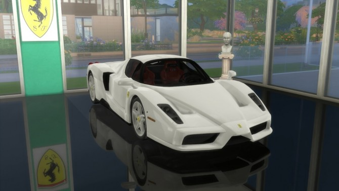 Enzo Ferrari at LorySims image 2171 670x377 Sims 4 Updates