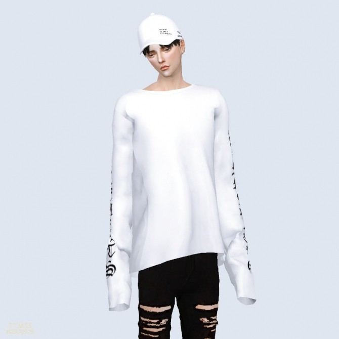 Sims 4 Long Sleeves Top at Marigold