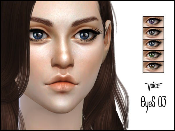 Sims 4 Voice Eyes 03 by lancangzuo114 at TSR