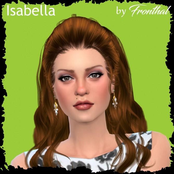 Sims 4 ISABELLA at Fronthal