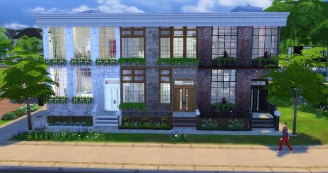 Sims 4 Suburban Apartments at Lily Sims