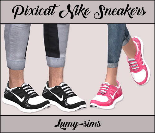 Pixicat Sneakers at Lumy Sims image 2254 Sims 4 Updates