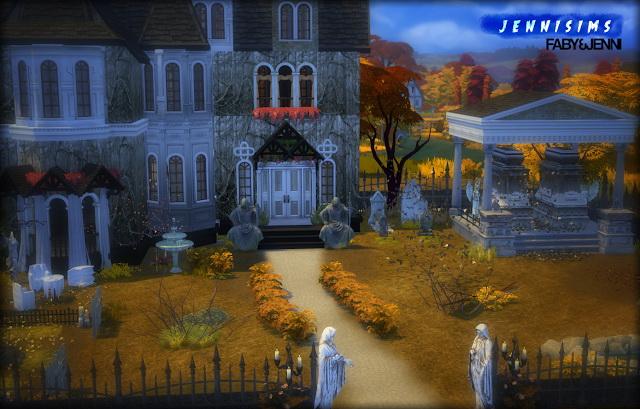 Sims 4 Statue Bridge guard by Faby&Jenni at Jenni Sims