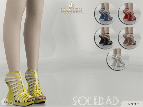 Madlen Soledad Shoes by MJ95 at TSR image 2416 Sims 4 Updates