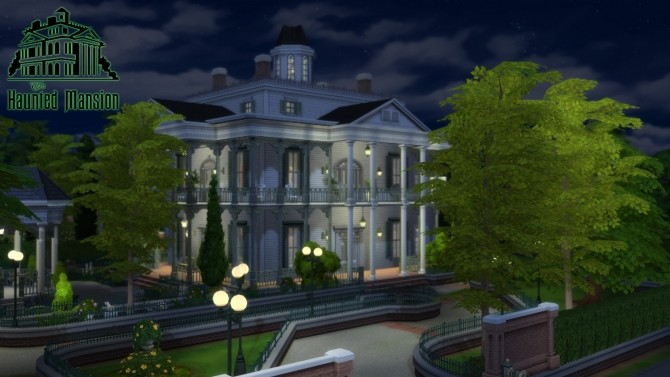 Cc Free Antebellum Plantation Aka The Haunted Mansion By