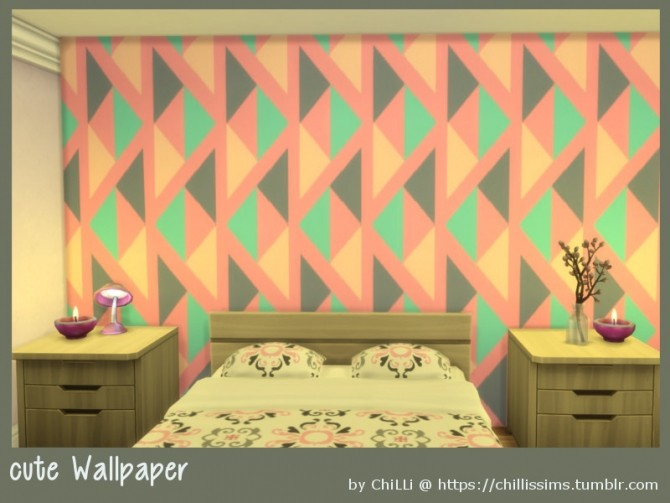Sims 4 Cute wallpaper at ChiLLis Sims