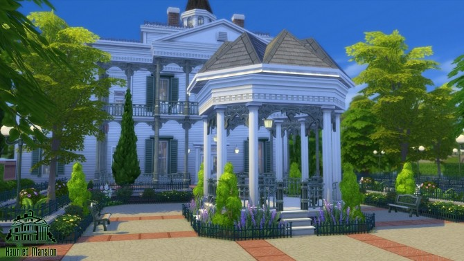 CC Free Antebellum Plantation aka The Haunted Mansion by Iam4ever at Mod The Sims image 2518 670x377 Sims 4 Updates