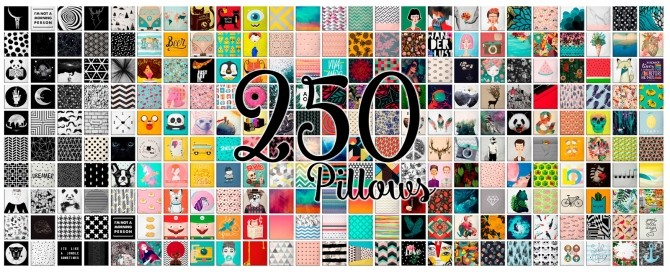 250 Pillows Set At Victor Miguel 187 Sims 4 Updates