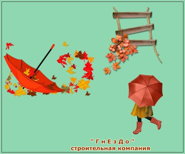Sims 4 Autumn decoration for windows at Sims by Mulena