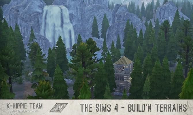 Sims 4 Rocks Terrain Replacement Oktober Update at K hippie