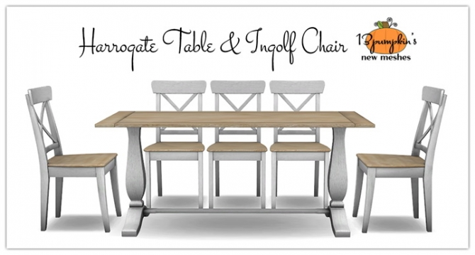 Harrogate Table Ingolf Dining Chair At 13pumpkin31