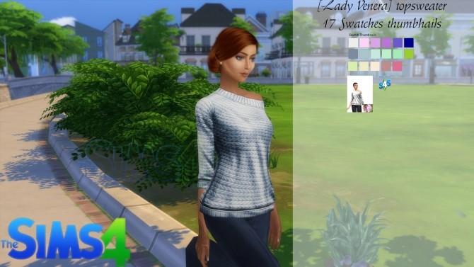 Sims 4 Sweater at Lady Venera