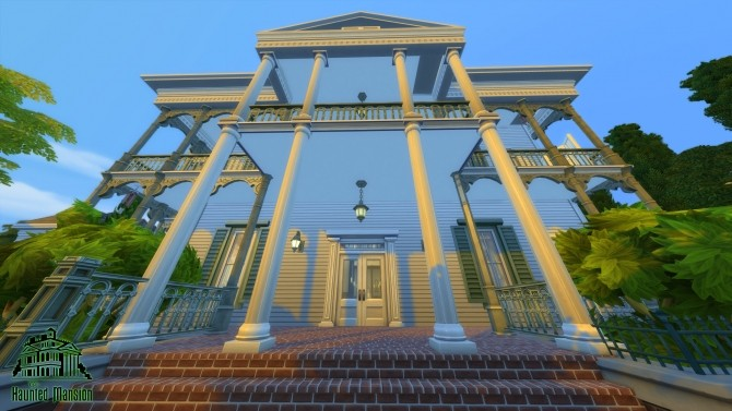 CC Free Antebellum Plantation aka The Haunted Mansion by Iam4ever at Mod The Sims image 2618 670x377 Sims 4 Updates