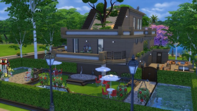 Modern Rich House at About Sims Sims 4 Updates