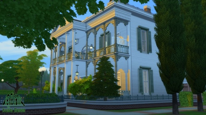 CC Free Antebellum Plantation aka The Haunted Mansion by Iam4ever at Mod The Sims image 2717 670x377 Sims 4 Updates