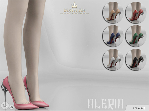 Sims 4 Madlen Aleria Shoes by MJ95 at TSR