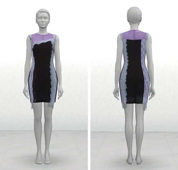 Dress at GreenApple18r image 2762 Sims 4 Updates