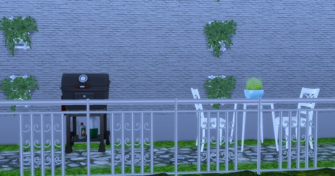 Sims 4 Little Modern House at Lily Sims