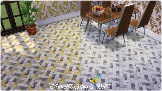 Sims 4 Broken Tile Floors at Annett's Sims 4 Welt