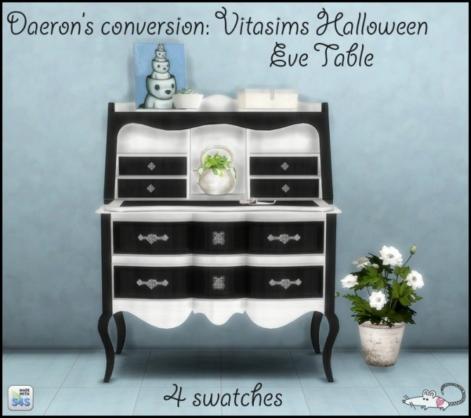 Sims 4 Vitasims Halloween Eve Set recolored at Loverat Sims4